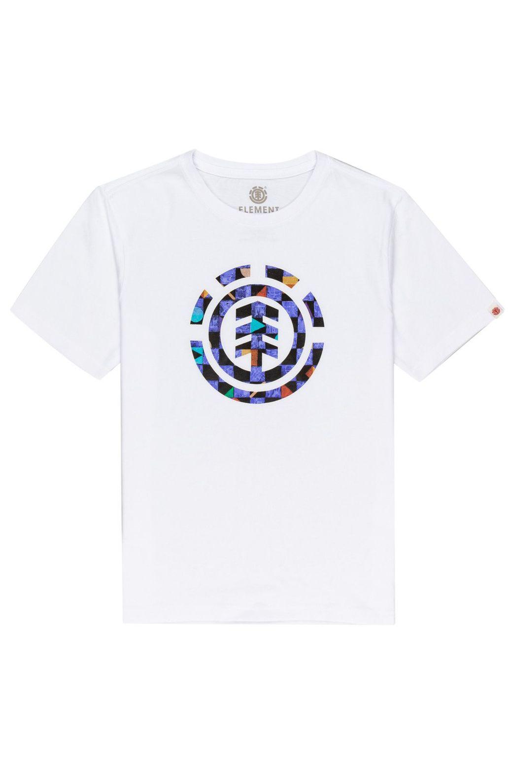 T-Shirt Element PRISM ICON SS BOY Optic White
