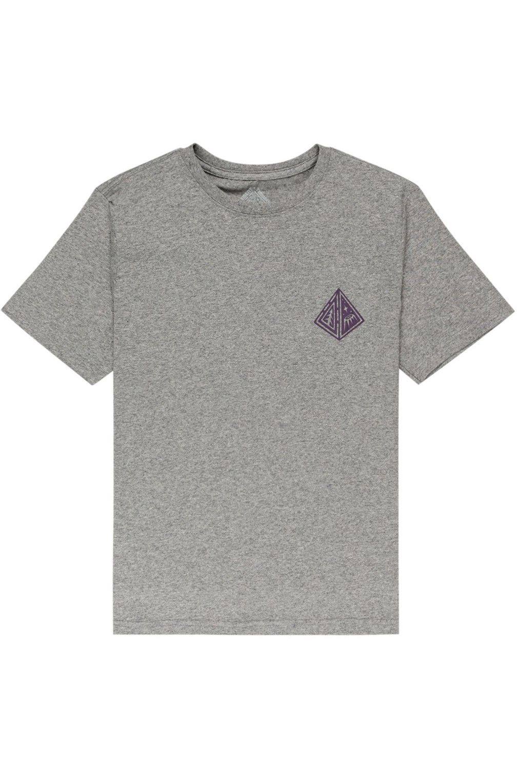 Element T-Shirt ACCEPTANCE SS YOUTH TIMBER COLLECTION Grey Heather