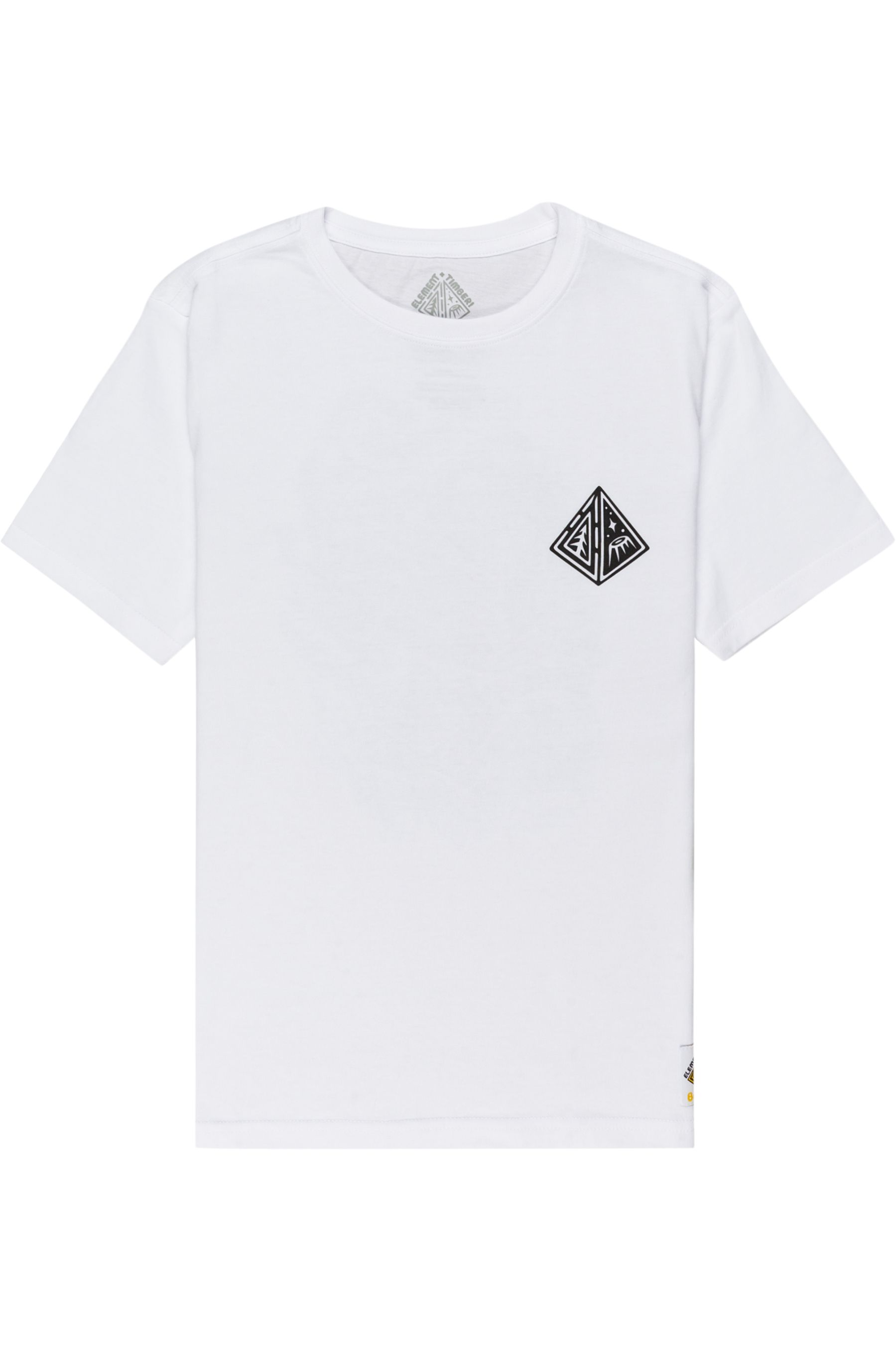Element T-Shirt ACCEPTANCE SS YOUTH TIMBER COLLECTION Optic White