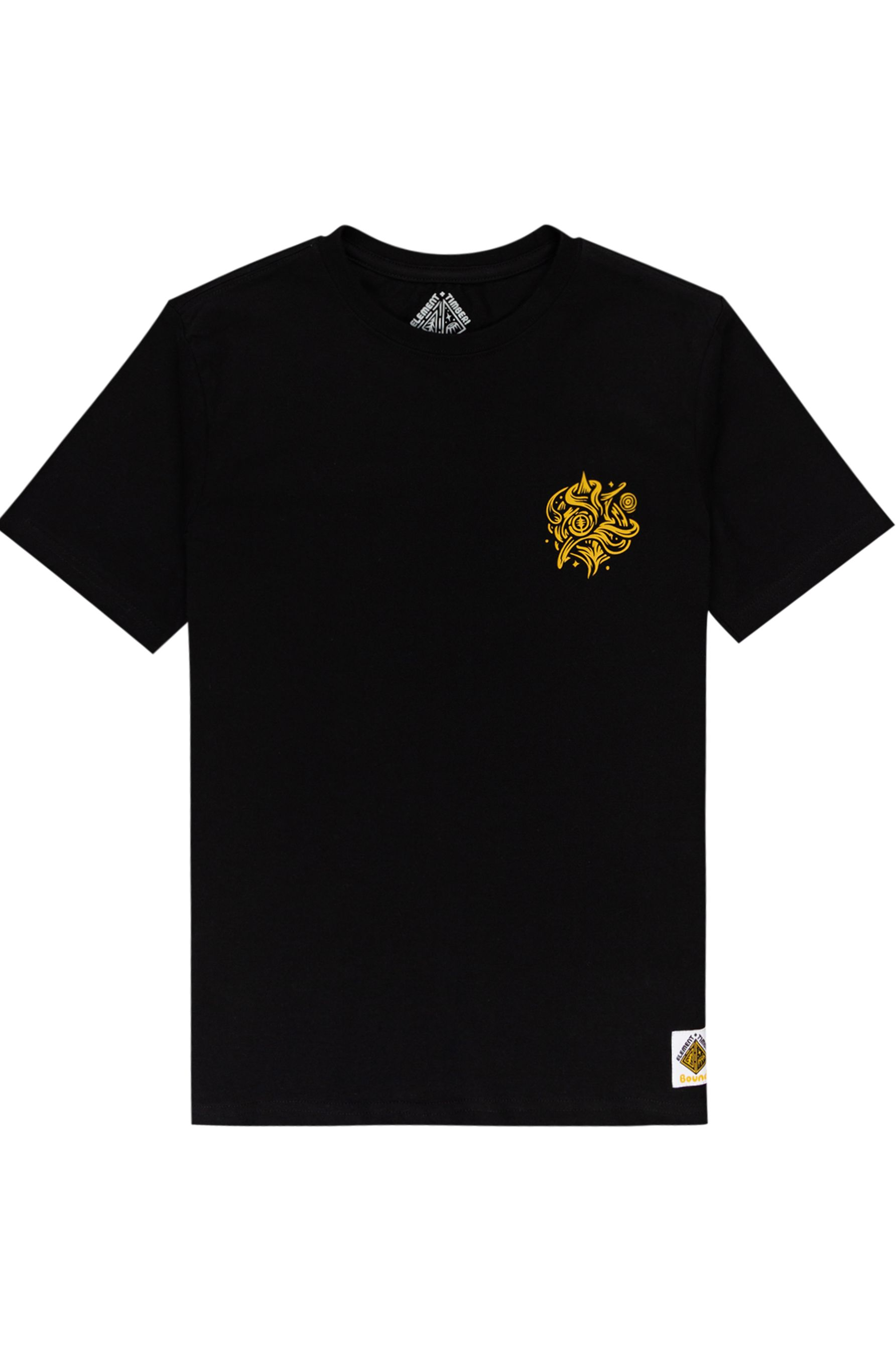 Element T-Shirt REASONING SS YOUTH TIMBER COLLECTION Flint Black