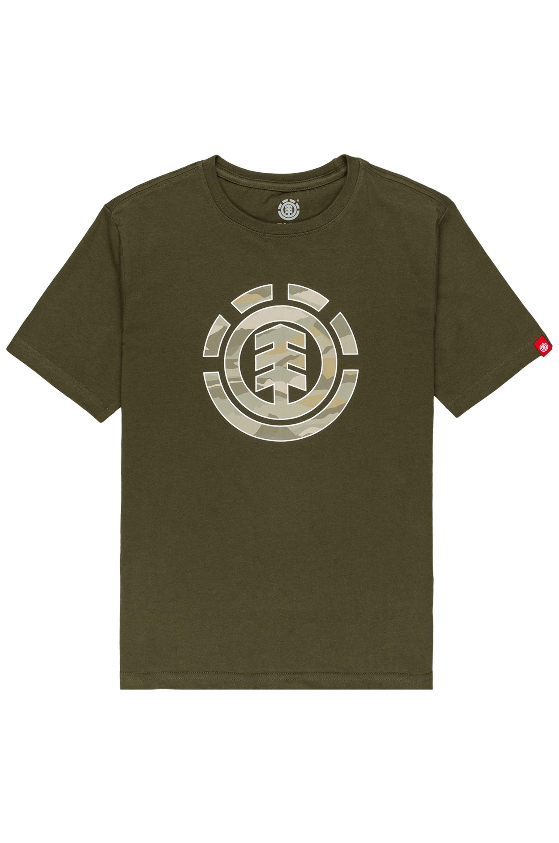 Element T-Shirt LANDSCAPE CAMO SS YO Army