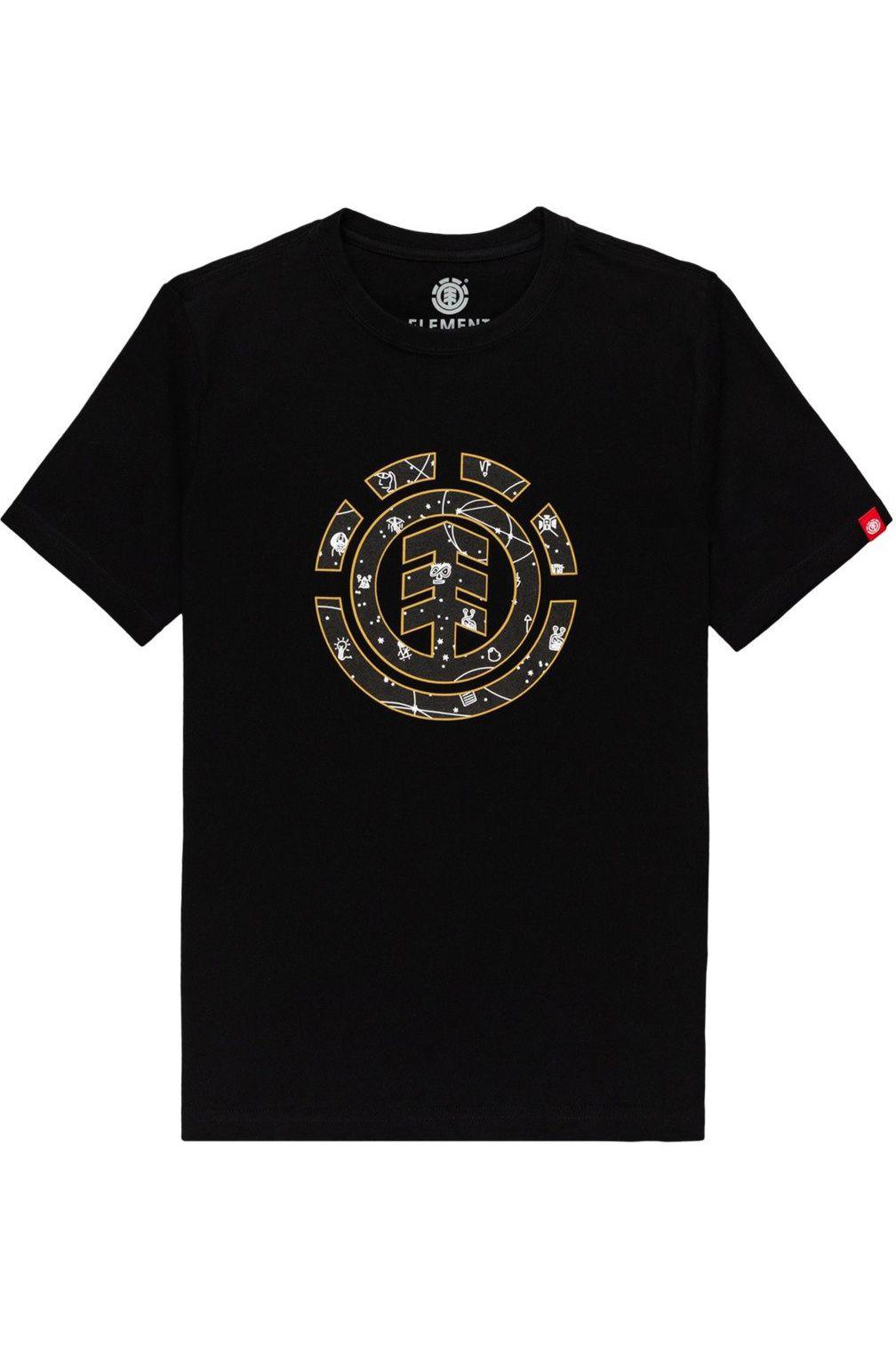 T-Shirt Element COOKIE GALAXY SS YOU Flint Black