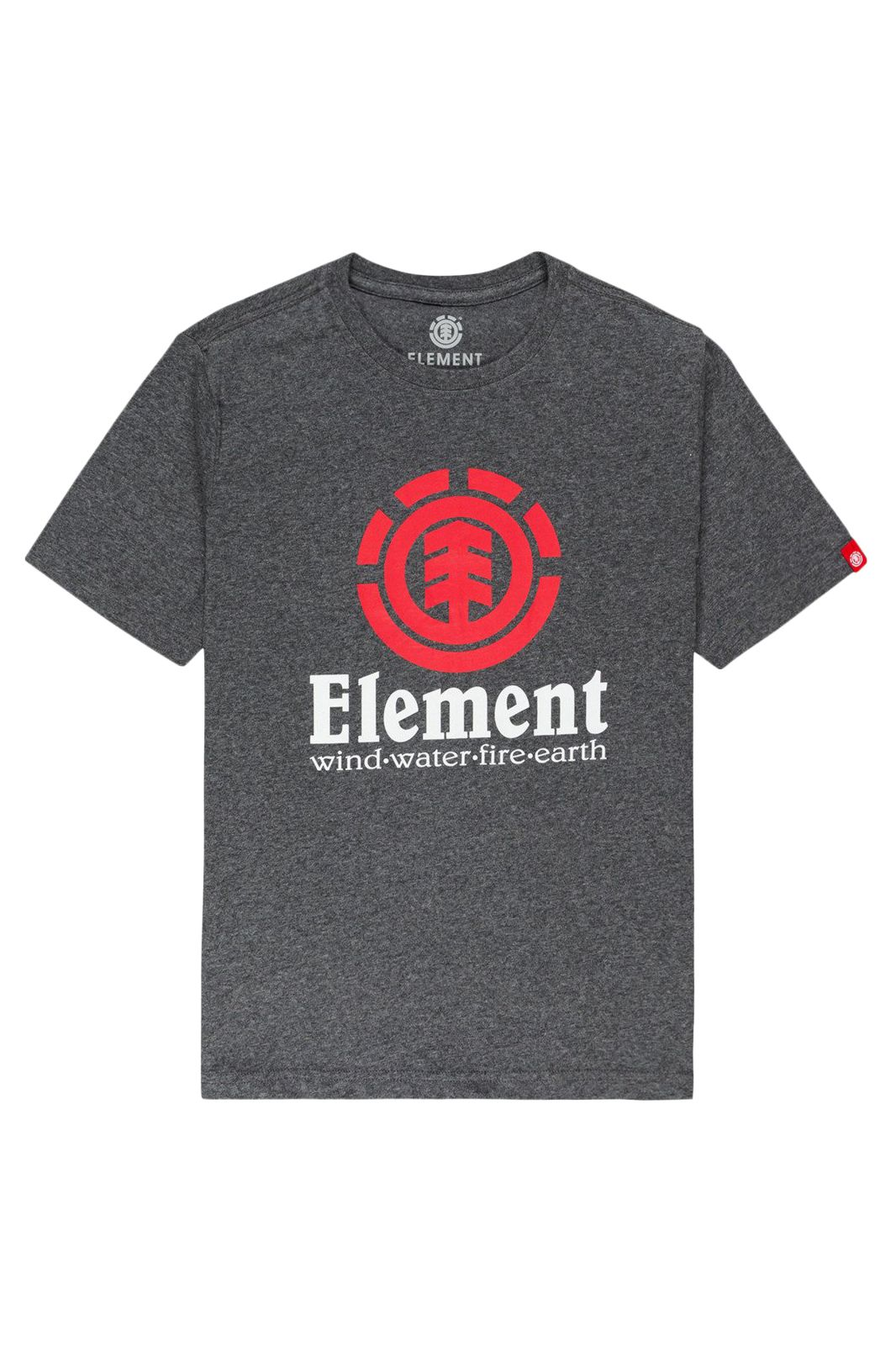 T-Shirt Element VERTICAL SS YOUTH Charcoal Heather