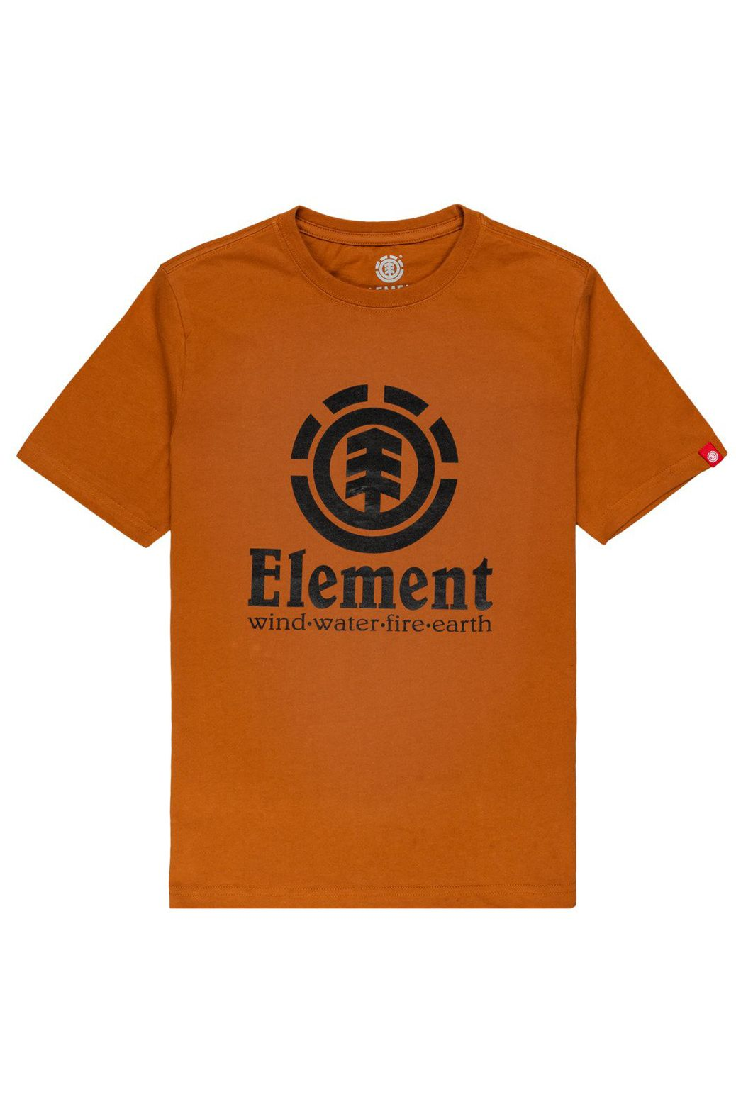 Element T-Shirt VERTICAL SS YOUTH Glazed Ginger