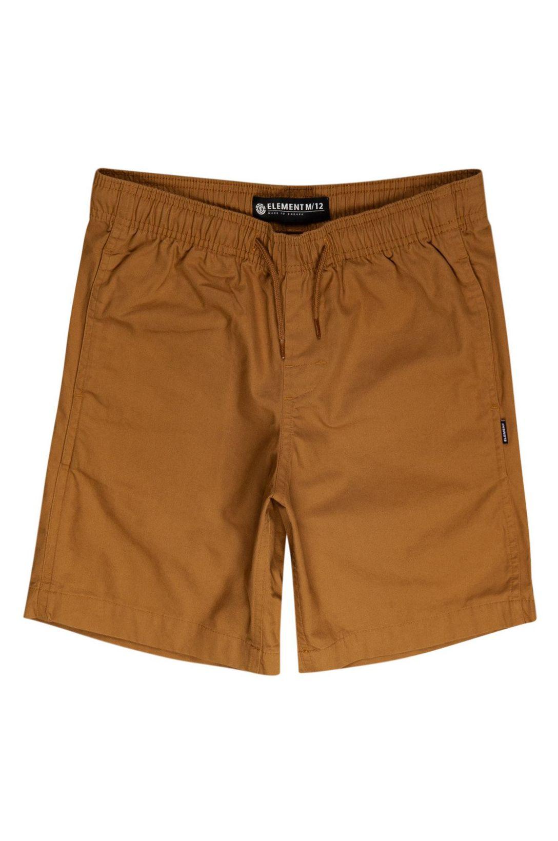 Walkshorts Element VACATION SHORT BOY Gold Brown