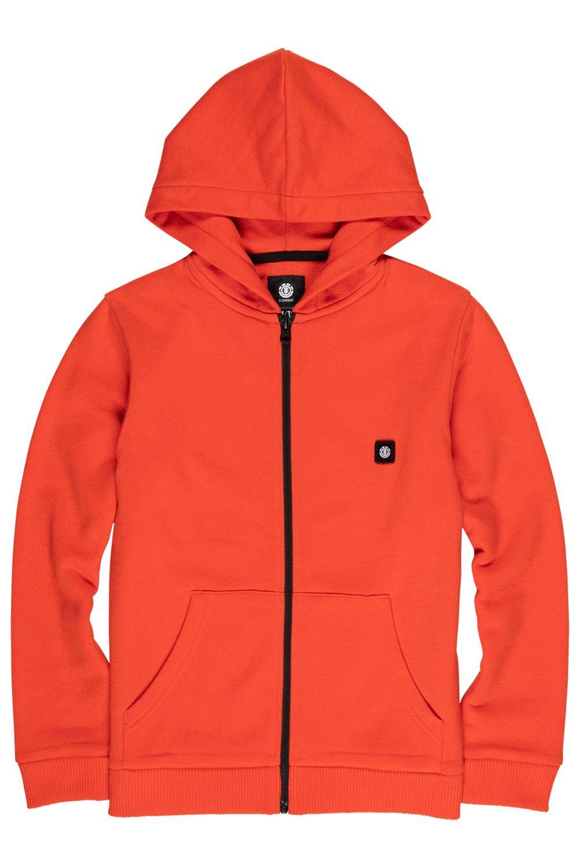 Element Sweat Zip Hood 92 BOY Grenadine