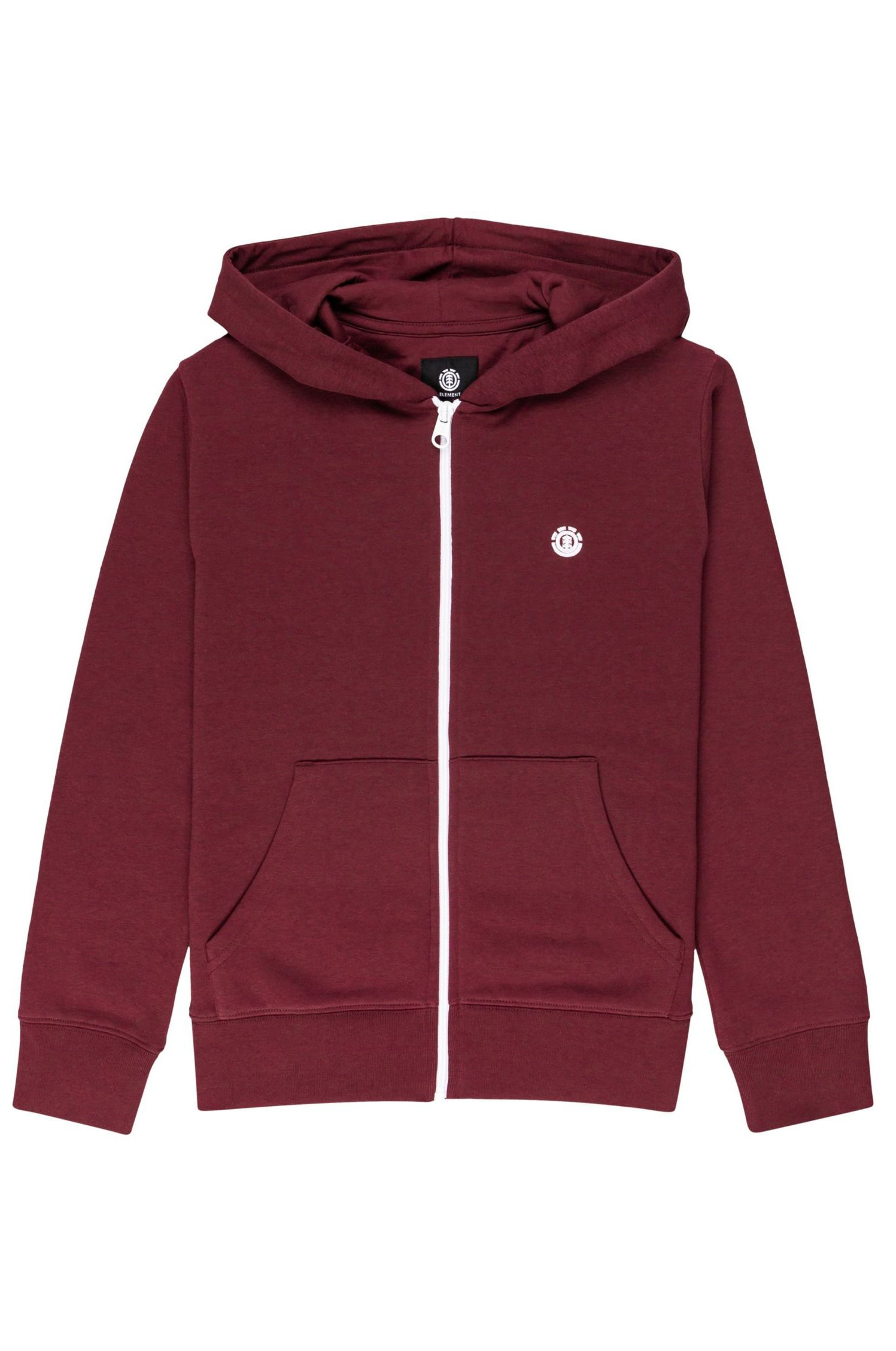 Element Sweat Zip Hood CORNELL CLASSIC ZH Y Vintage Red