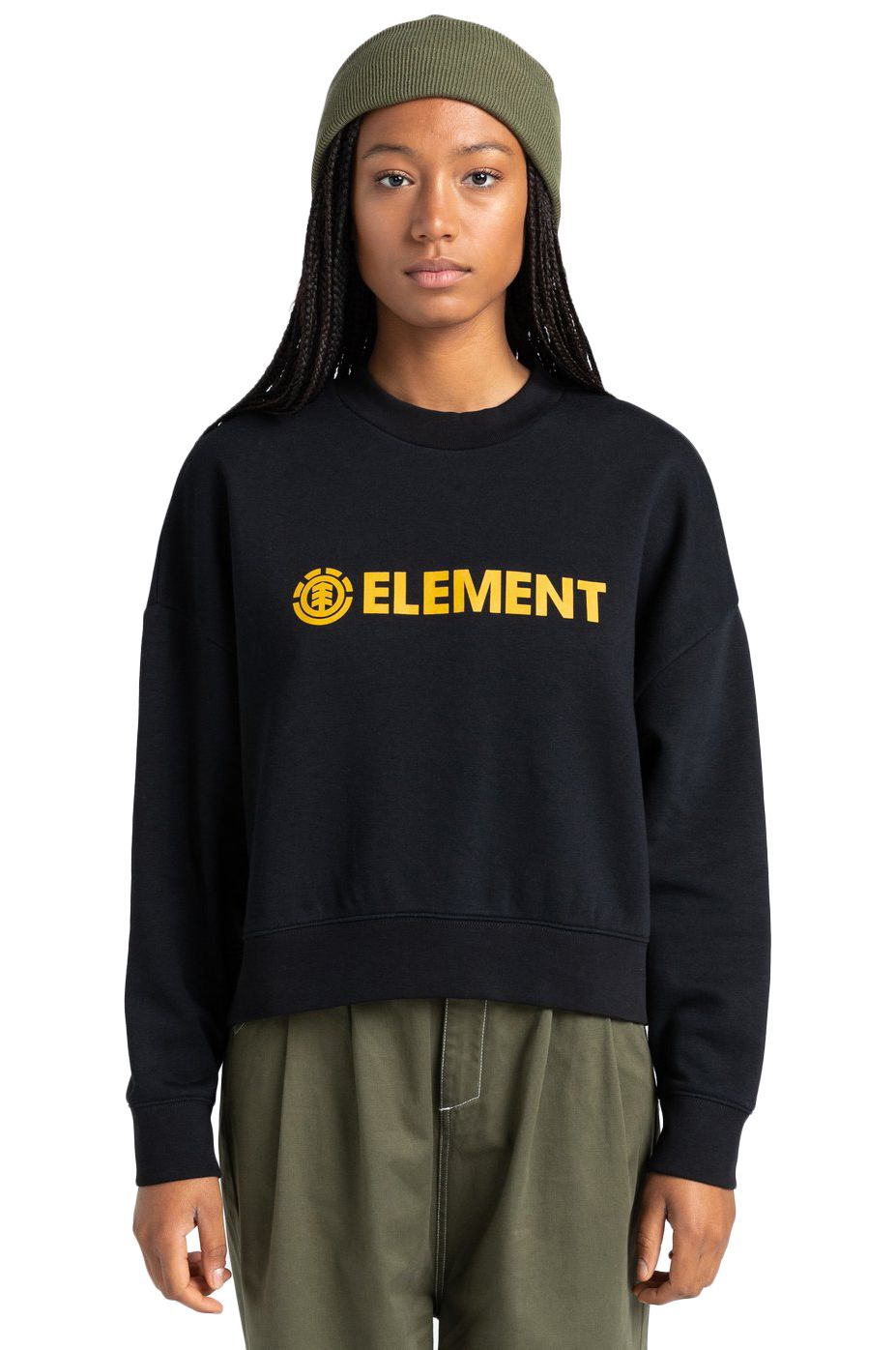 Element Crew Sweat LOGIC CREW W Flint Black