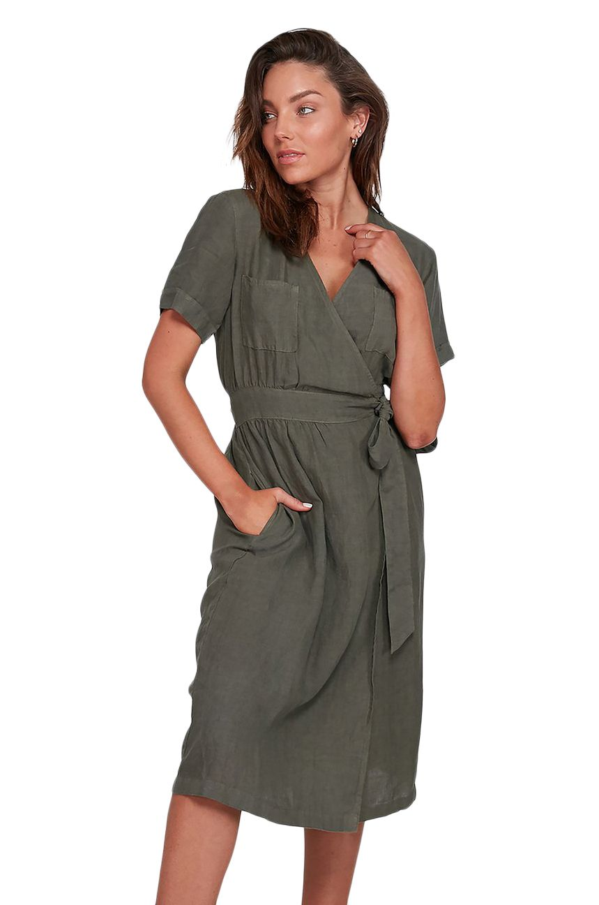 Element Dress KAYLA DRESS Army