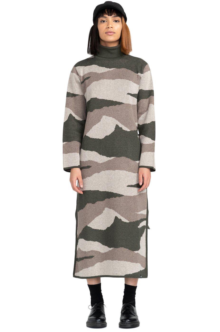 Vestido Element OLEN CAMO DRESS Camo