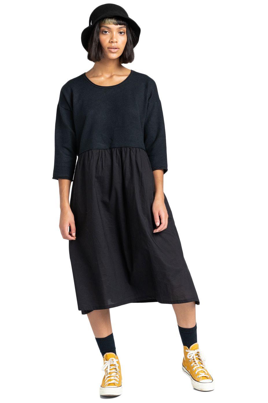 Vestido Element TEMPETE DRESS Black
