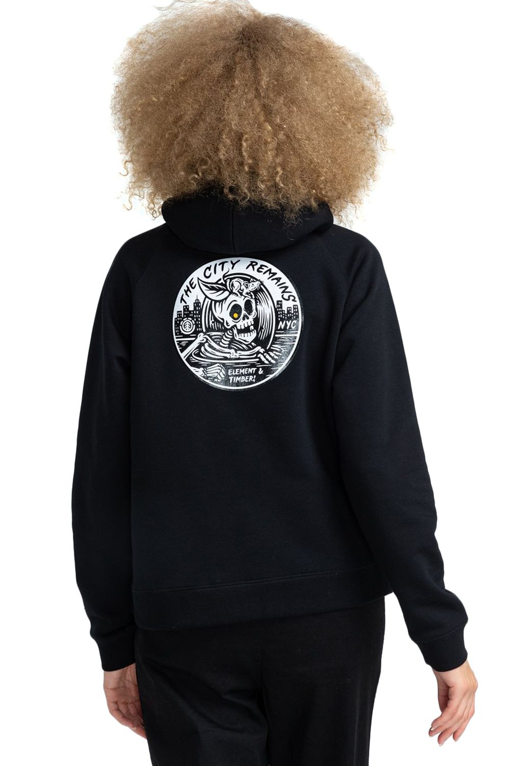 Sweat Capuz Element BSIDE WO TIMBER COLLECTION Flint Black