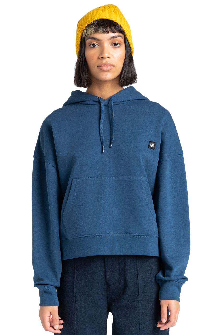 Element Sweat Hood 92 HO WOMEN Insignia Blue