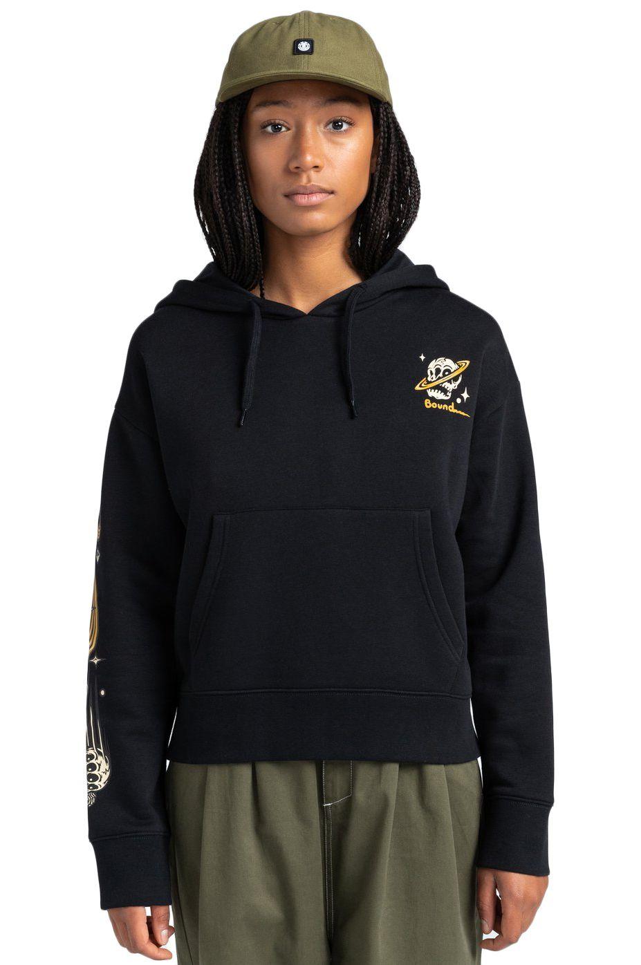 Element Sweat Hood TRANSENDER HOOD W TIMBER COLLECTION Flint Black