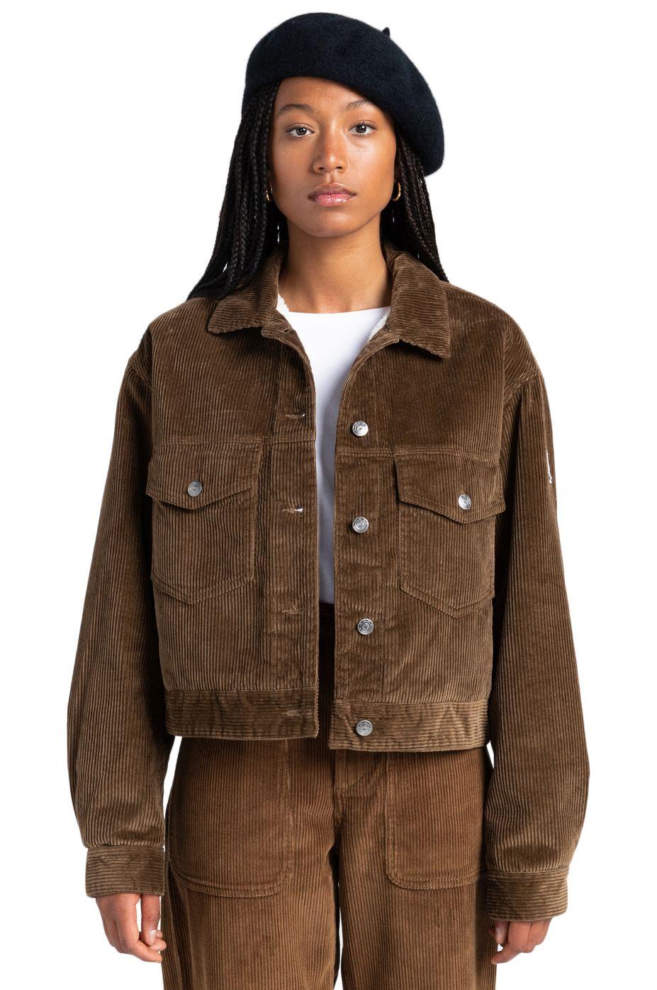 Element Jacket CRAFT TRUCKER CORD WOLFEBORO Teak