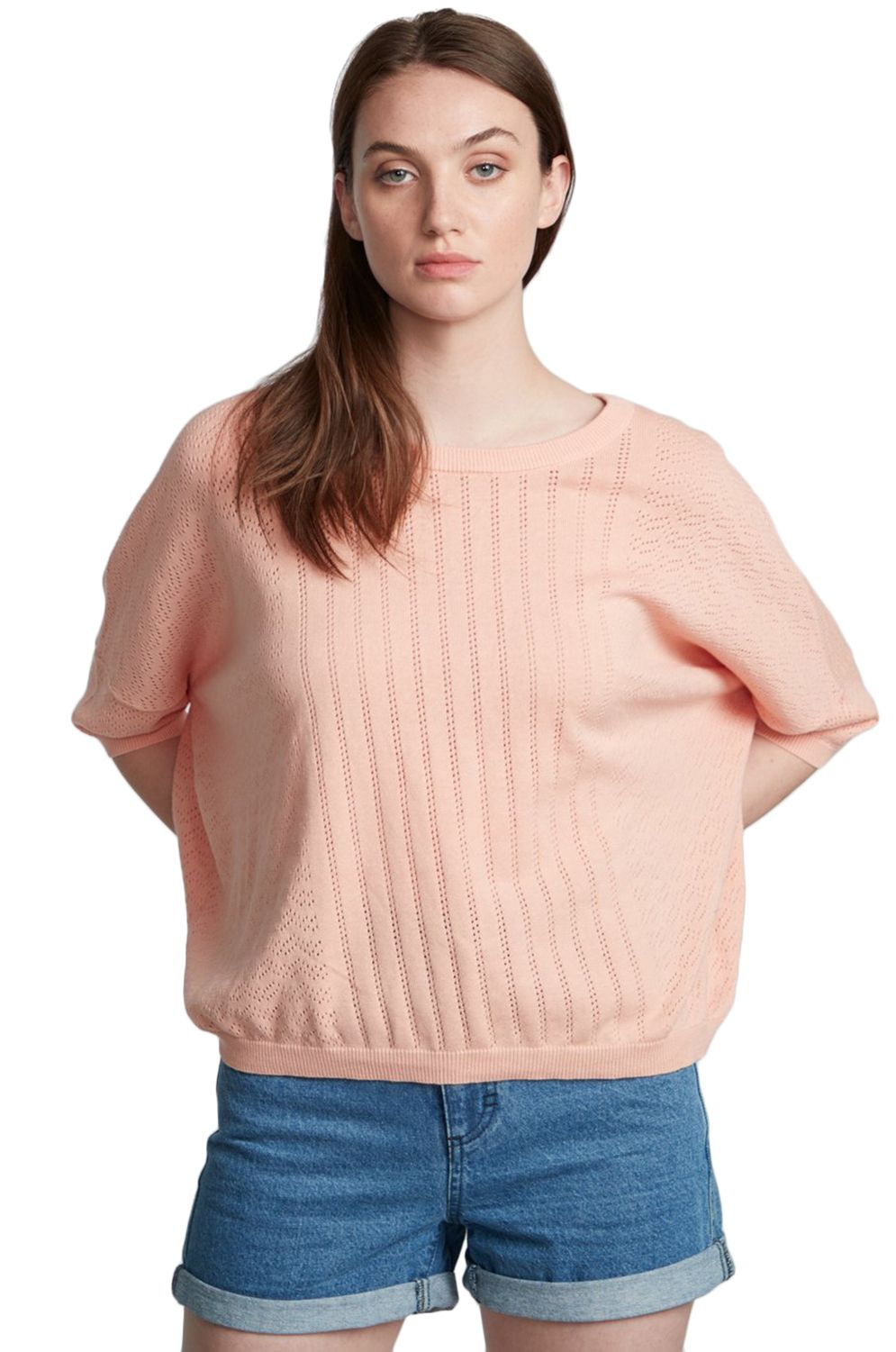 Element Sweater MEMORIES Coral Pink