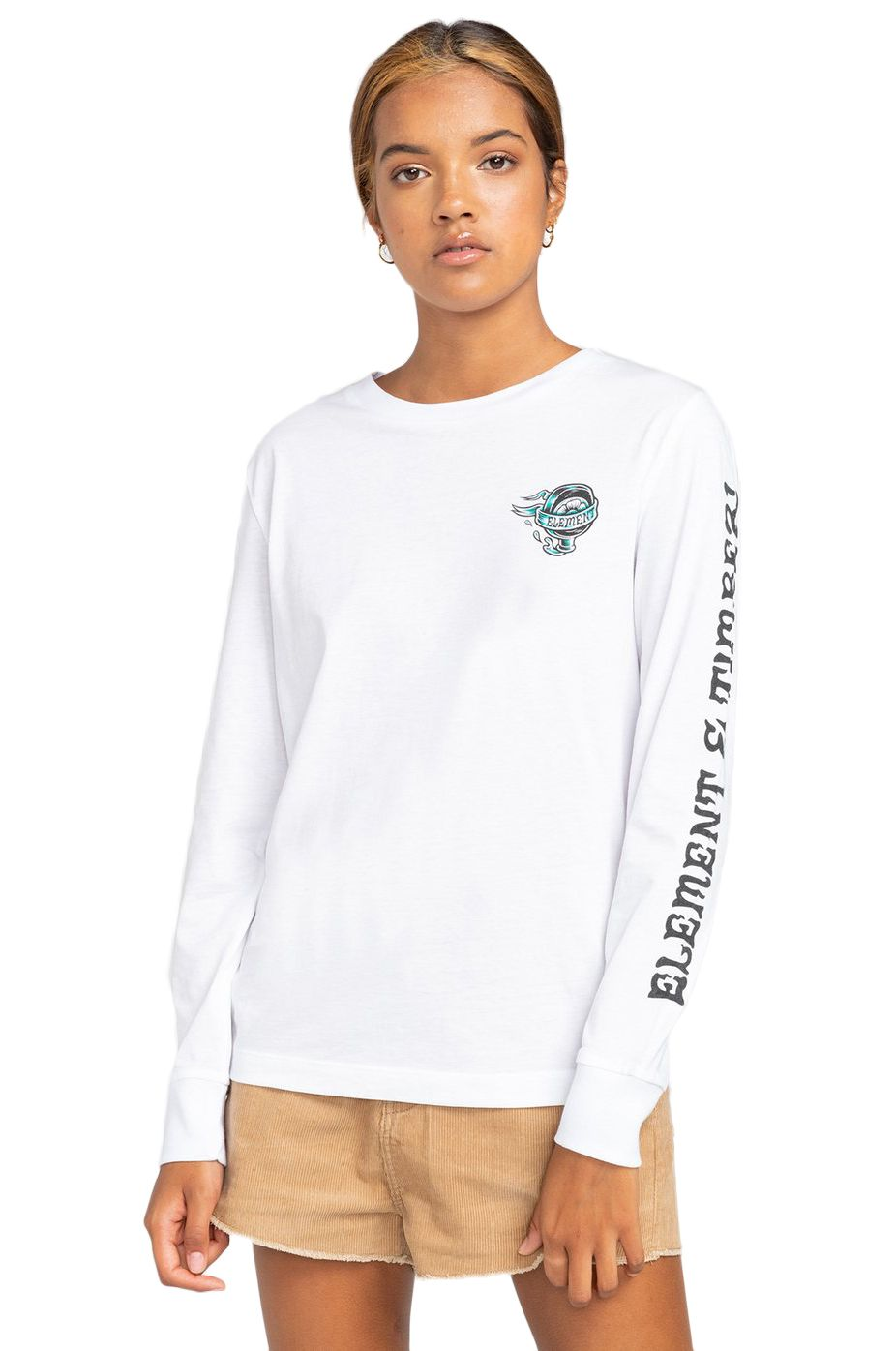 L-Sleeve Element ANTIDOTE WO LS TIMBER COLLECTION Optic White