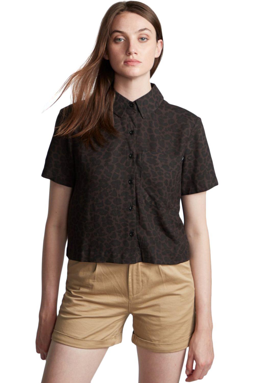 Camisa Element RAMBLIN Black Leopard