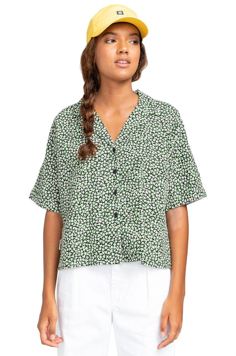 Camisa Element JAVA CTNC White Wildflower