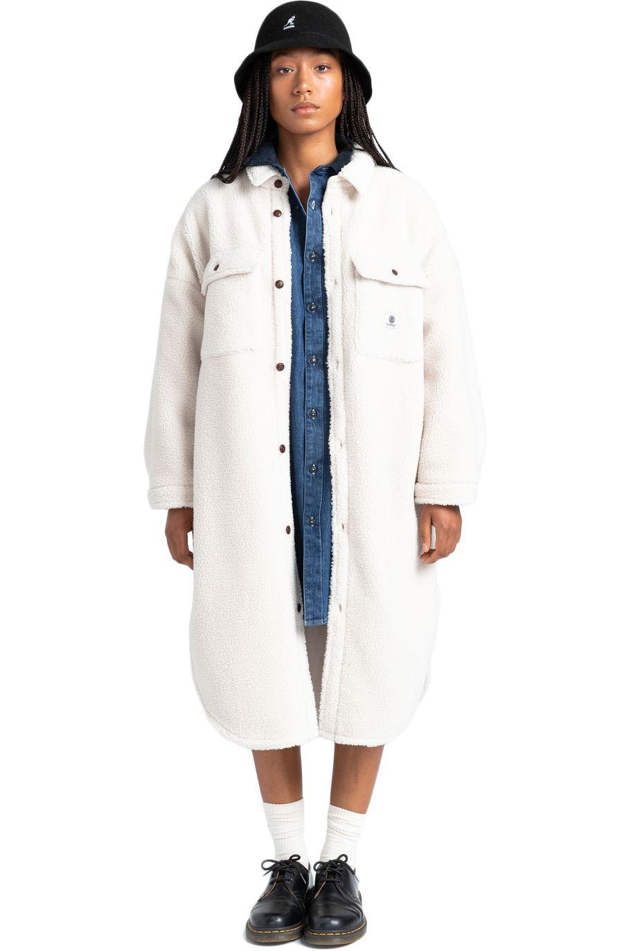 Camisa Element MANITOBA PILE SHIRT Natural