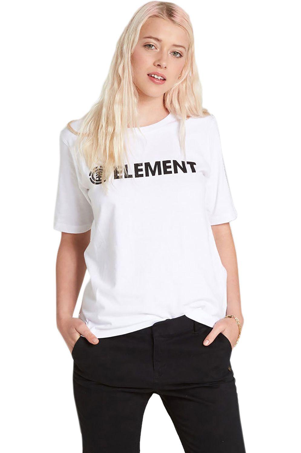 T-Shirt Element ELEMENT LOGO FOUNDATION White