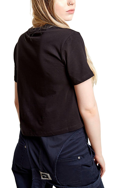 Element T-Shirt TIMBER CROP TIMBER COLLECTION Black