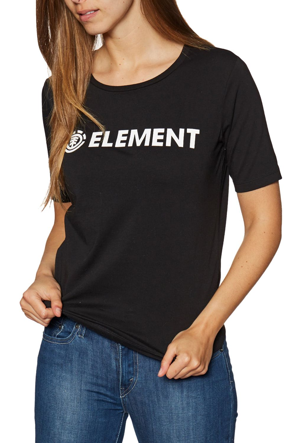 Element T-Shirt ELEMENT LOGO Black