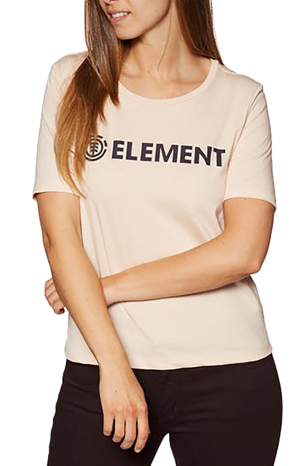 Element T-Shirt ELEMENT LOGO White Smoke