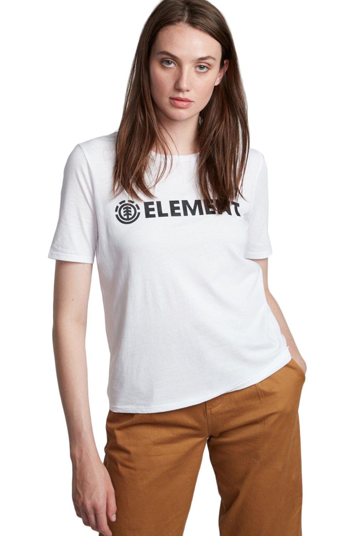 T-Shirt Element ELEMENT LOGO CR White