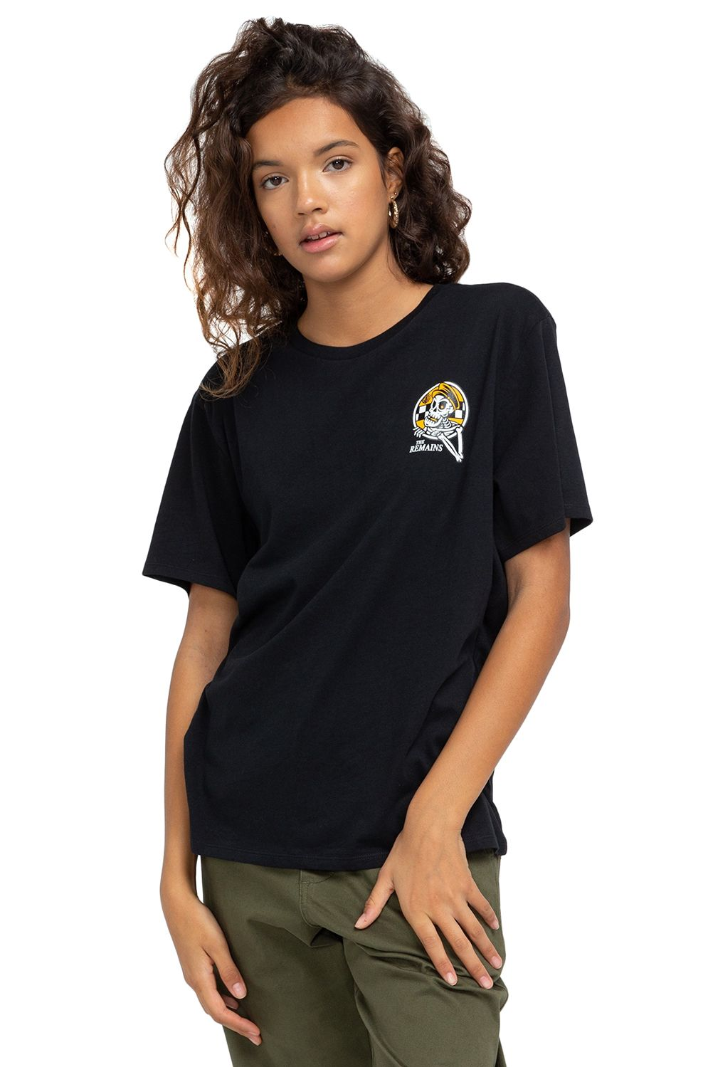 T-Shirt Element TAXI WO TIMBER COLLECTION Black