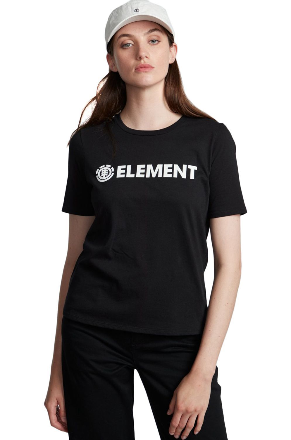 Element T-Shirt ELEMENT LOGO SS Black