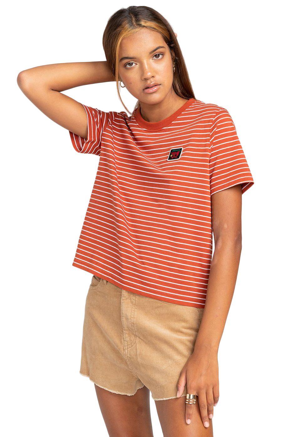 T-Shirt Element PAULA SS CR Picante
