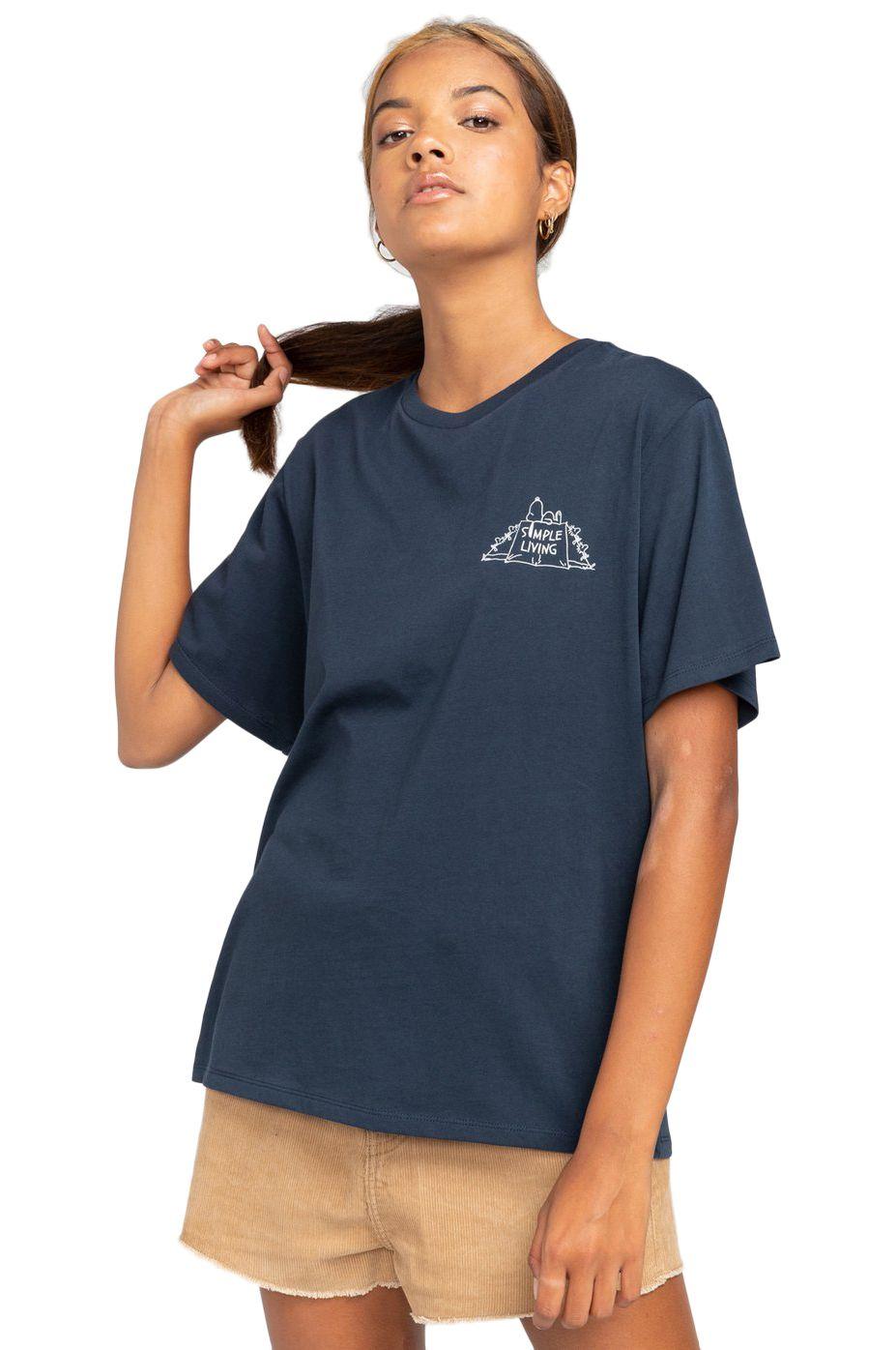T-Shirt Element PEANUTS SIMPLE LIVIN PEANUTS Eclipse Navy