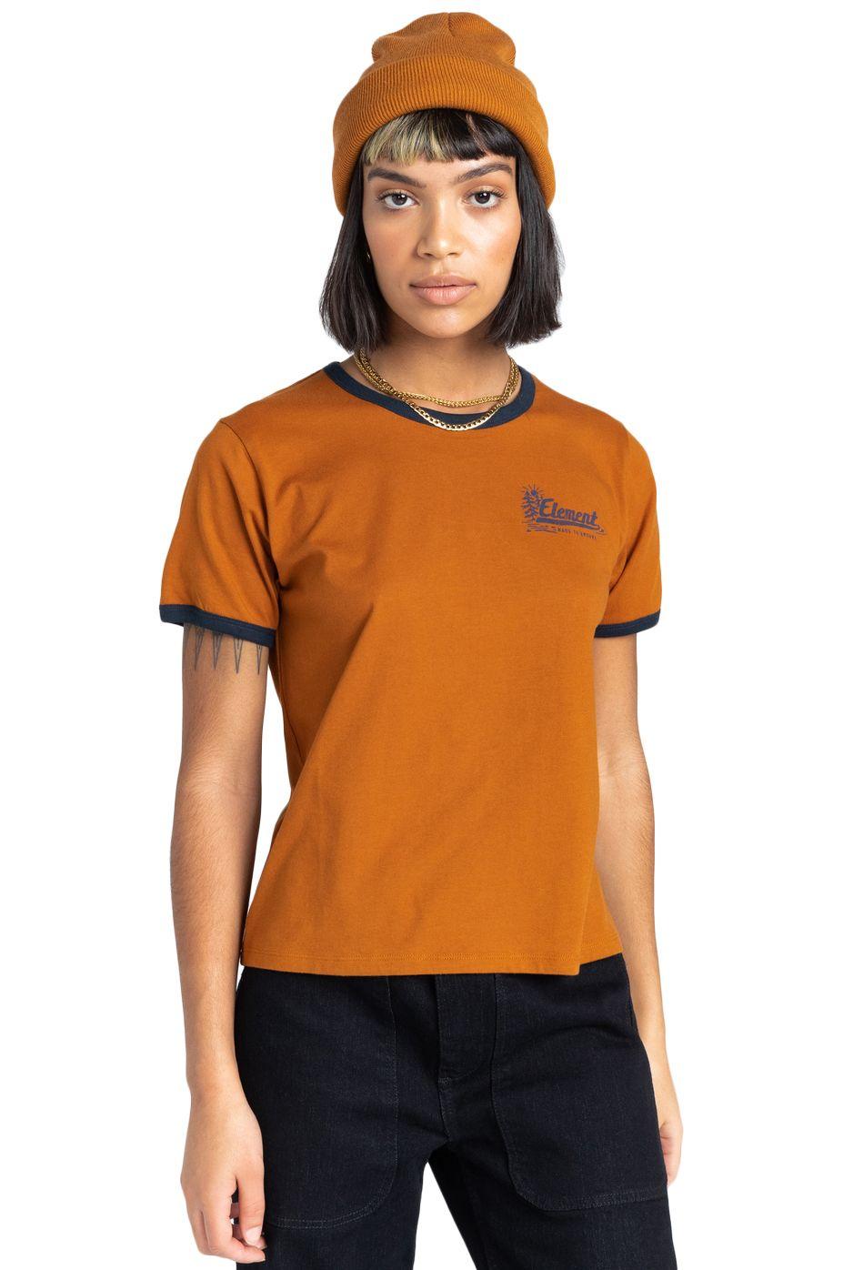 Element T-Shirt BALEEK SS W Glazed Ginger