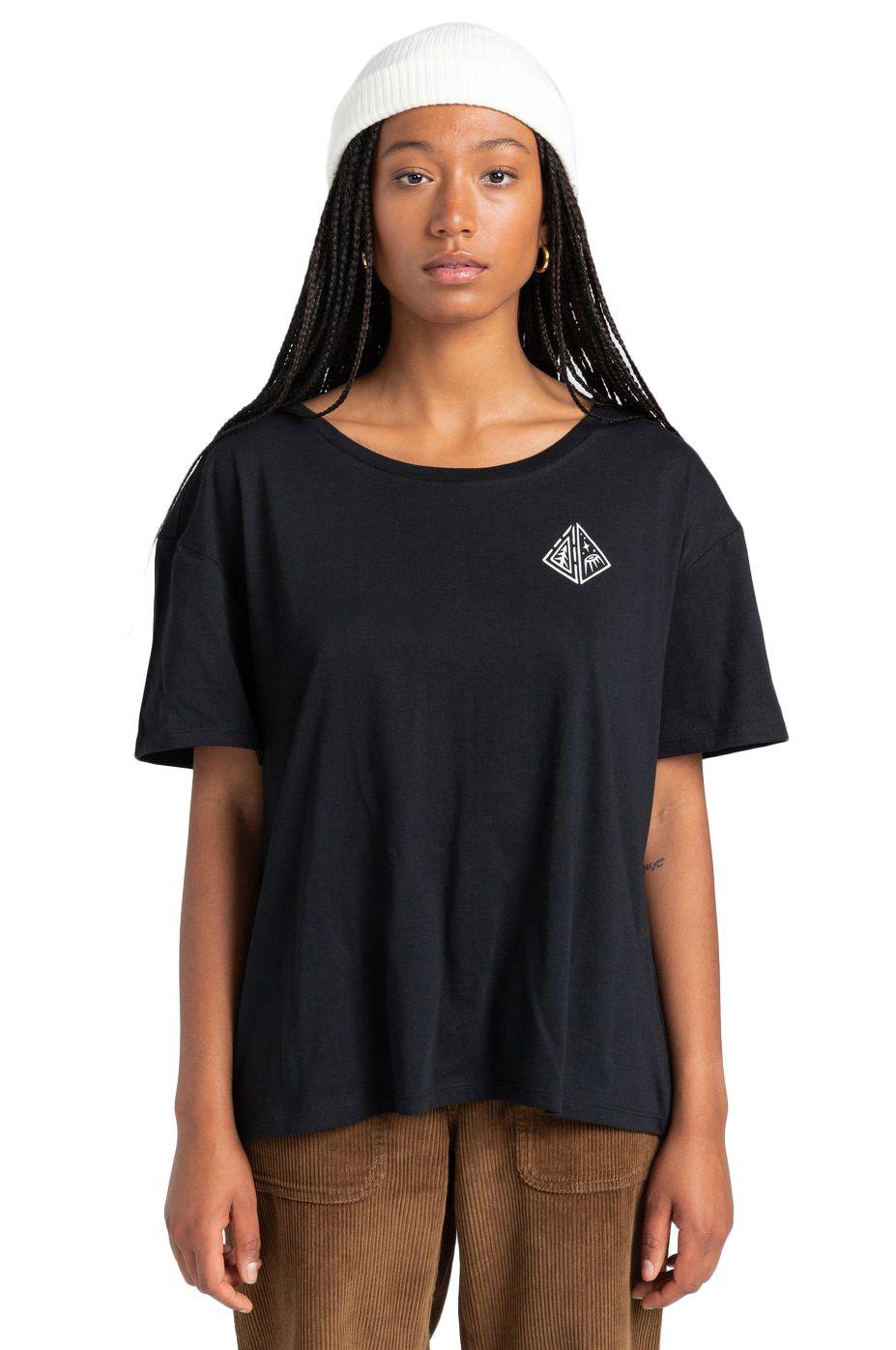 Element T-Shirt ELLIPTICAL SS W TIMBER COLLECTION Flint Black