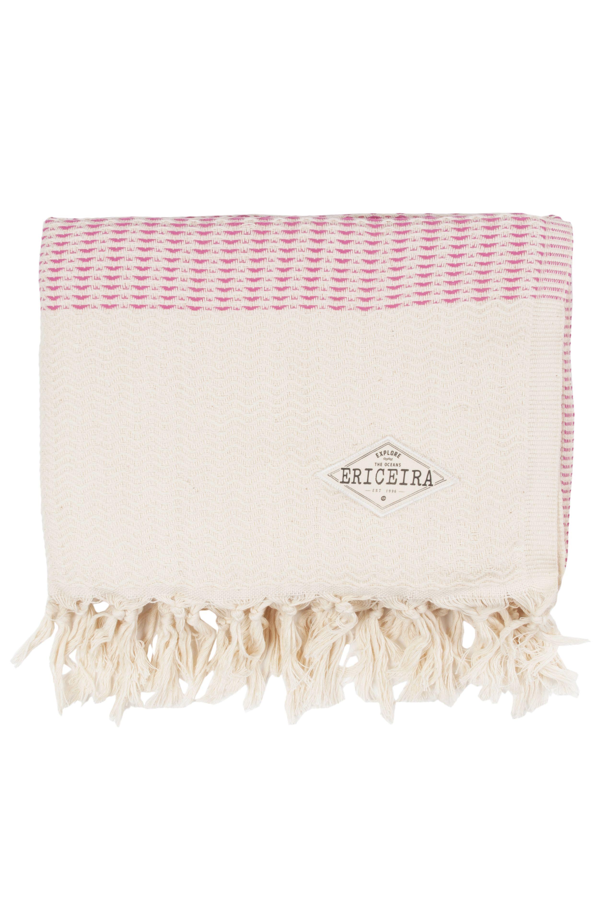 Ericeira Surf Skate Beach Towel LUTICS Pink