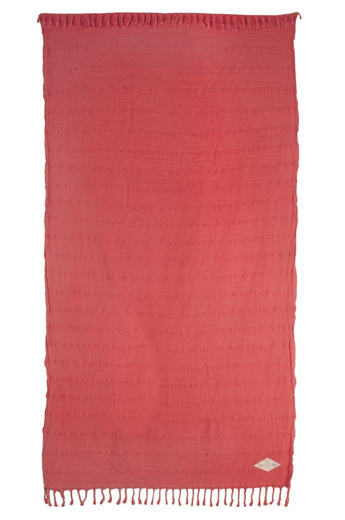 Ericeira Surf Skate Beach Towel ROCK STRIPE Pink