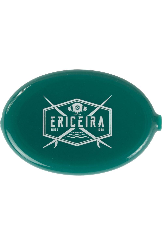 Ericeira Surf Skate Coin Purse CROSS ROAD Green Opaque