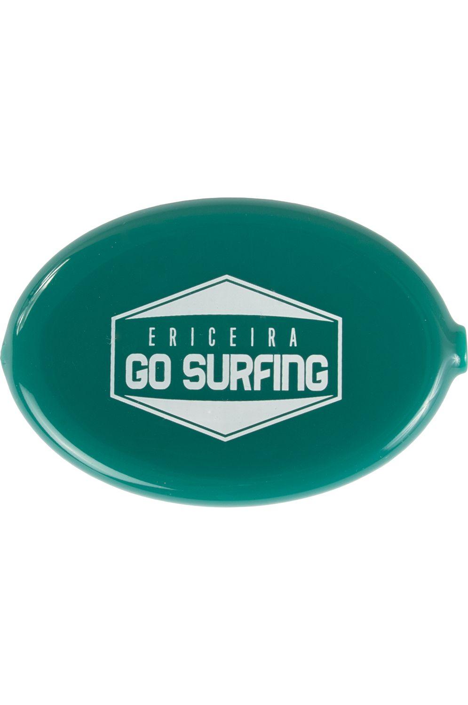 Ericeira Surf Skate Coin Purse ATOMIC Green Opaque