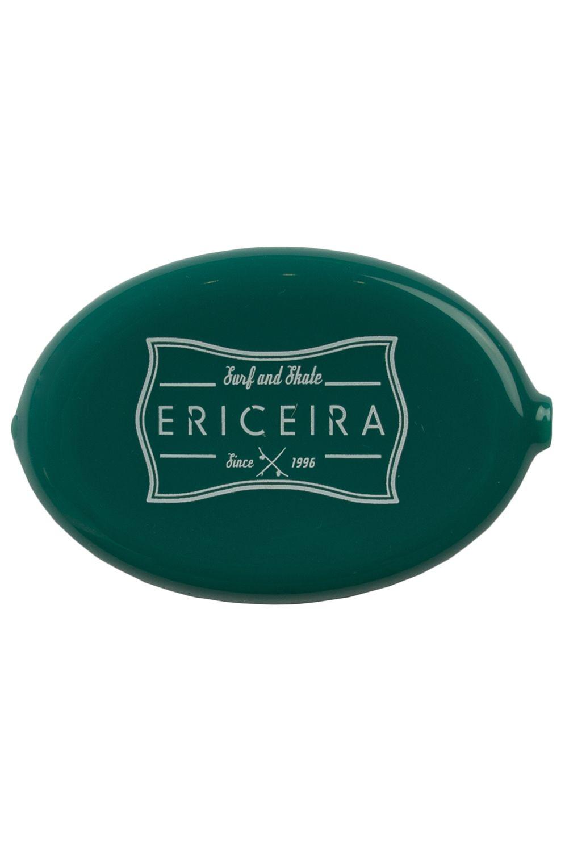 Ericeira Surf Skate Coin Purse LAGUNDRY Green Opaque