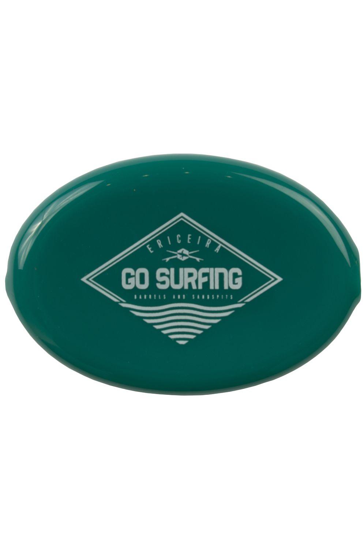 Ericeira Surf Skate Coin Purse SCAR REEF Green Opaque