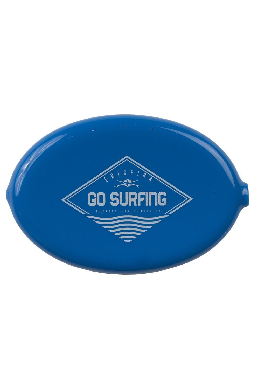 Ericeira Surf Skate Coin Purse SCAR REEF Blue Opaque