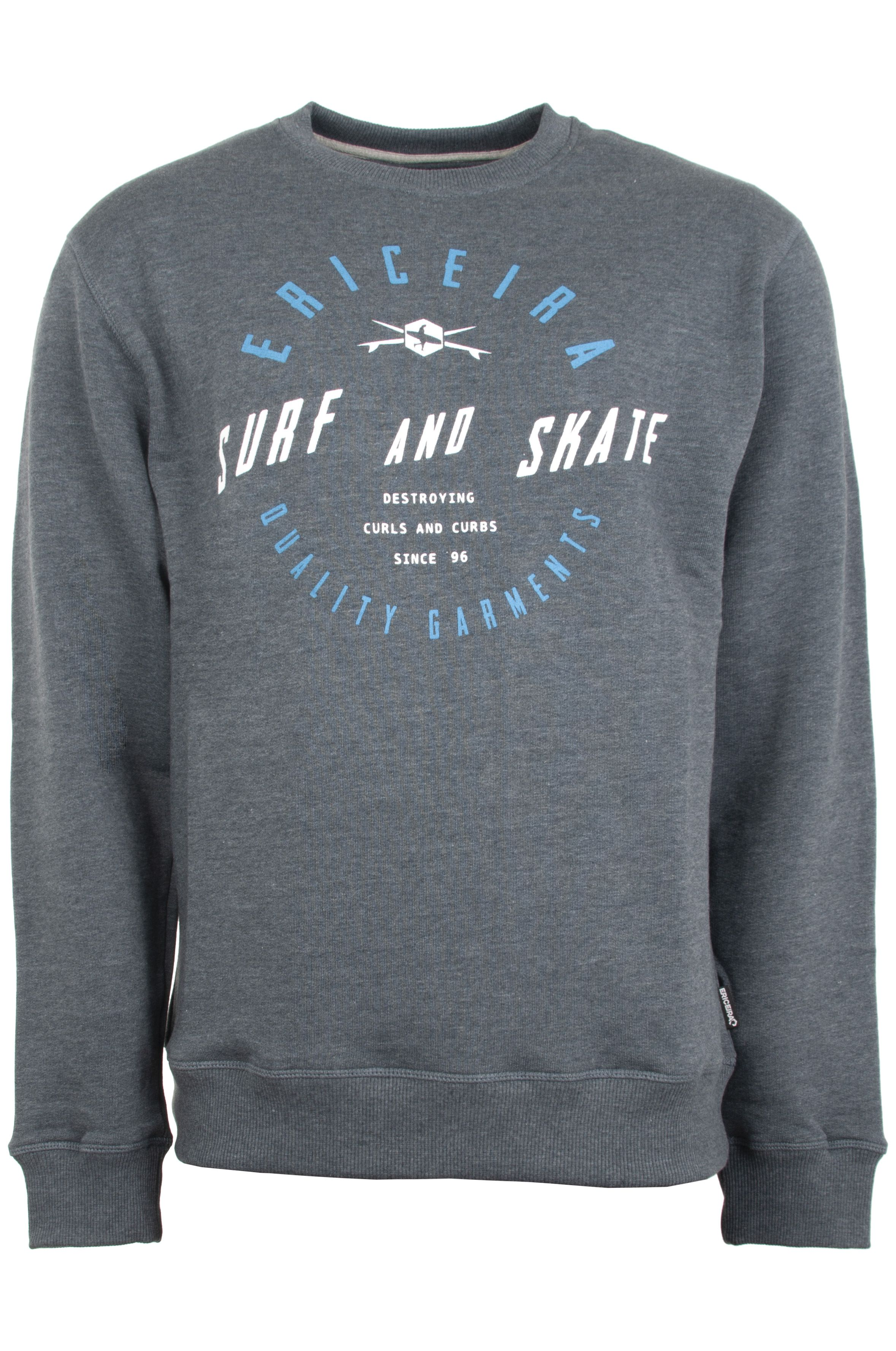 Sweat Basica Ericeira Surf Skate BINGUIN Navy Heather