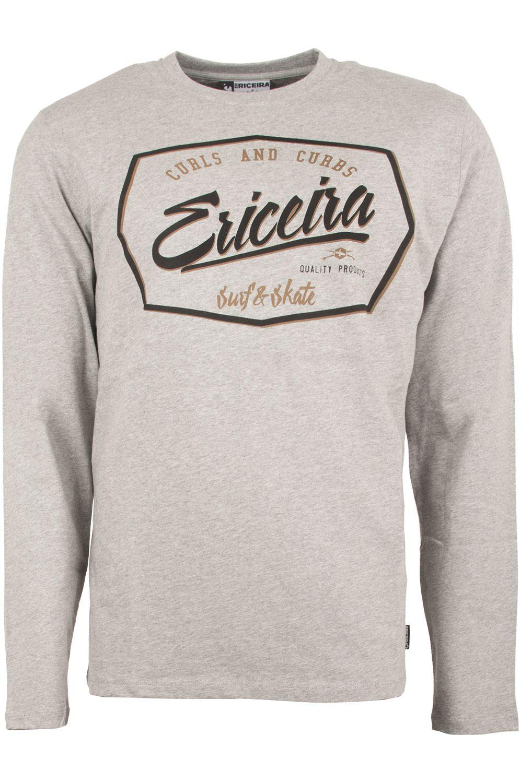L-Sleeve Ericeira Surf Skate CANGU Grey Heather