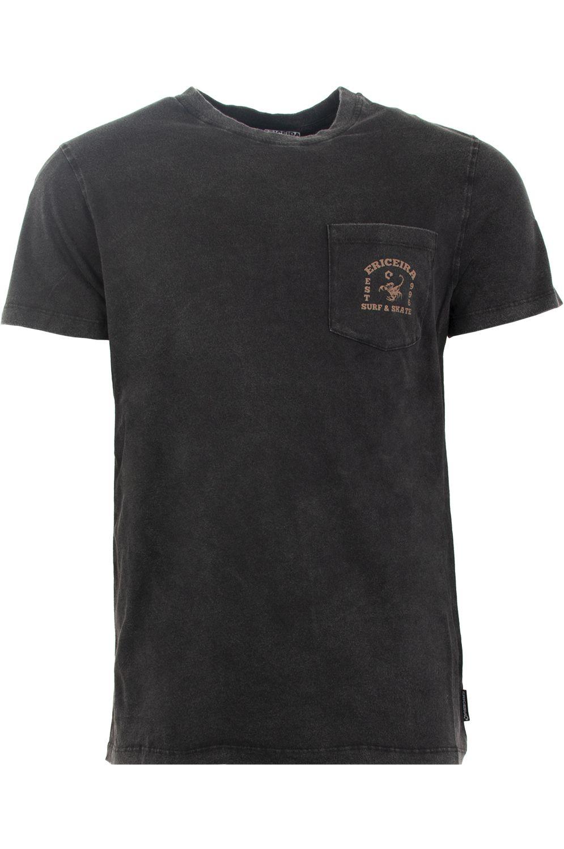 Ericeira Surf Skate T-Shirt Fashion SCORPION Black Denim