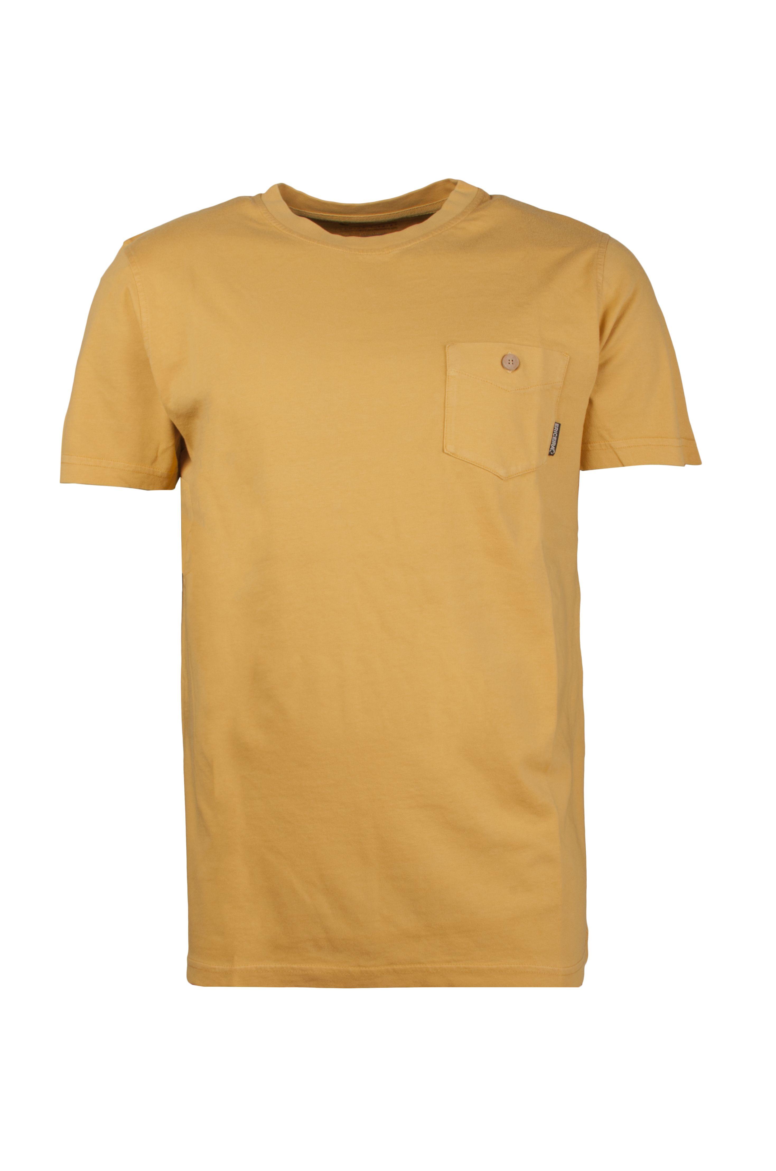 T-Shirt Ericeira Surf Skate MY POCKET II Gold Mustard