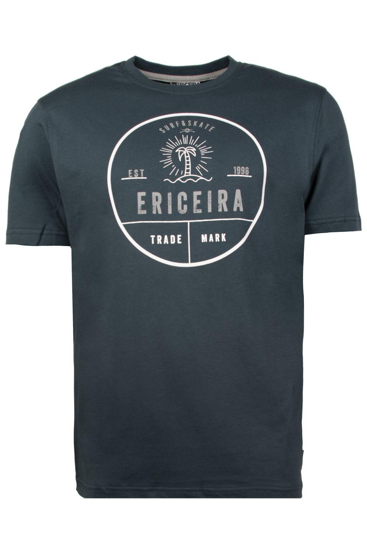 T-Shirt Ericeira Surf Skate TAVARUA Deep Blue