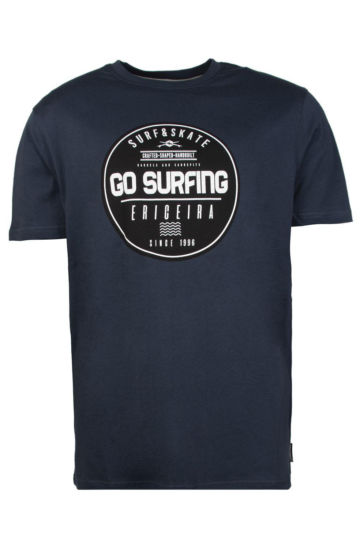 T-Shirt Ericeira Surf Skate EXPLOITED Navy