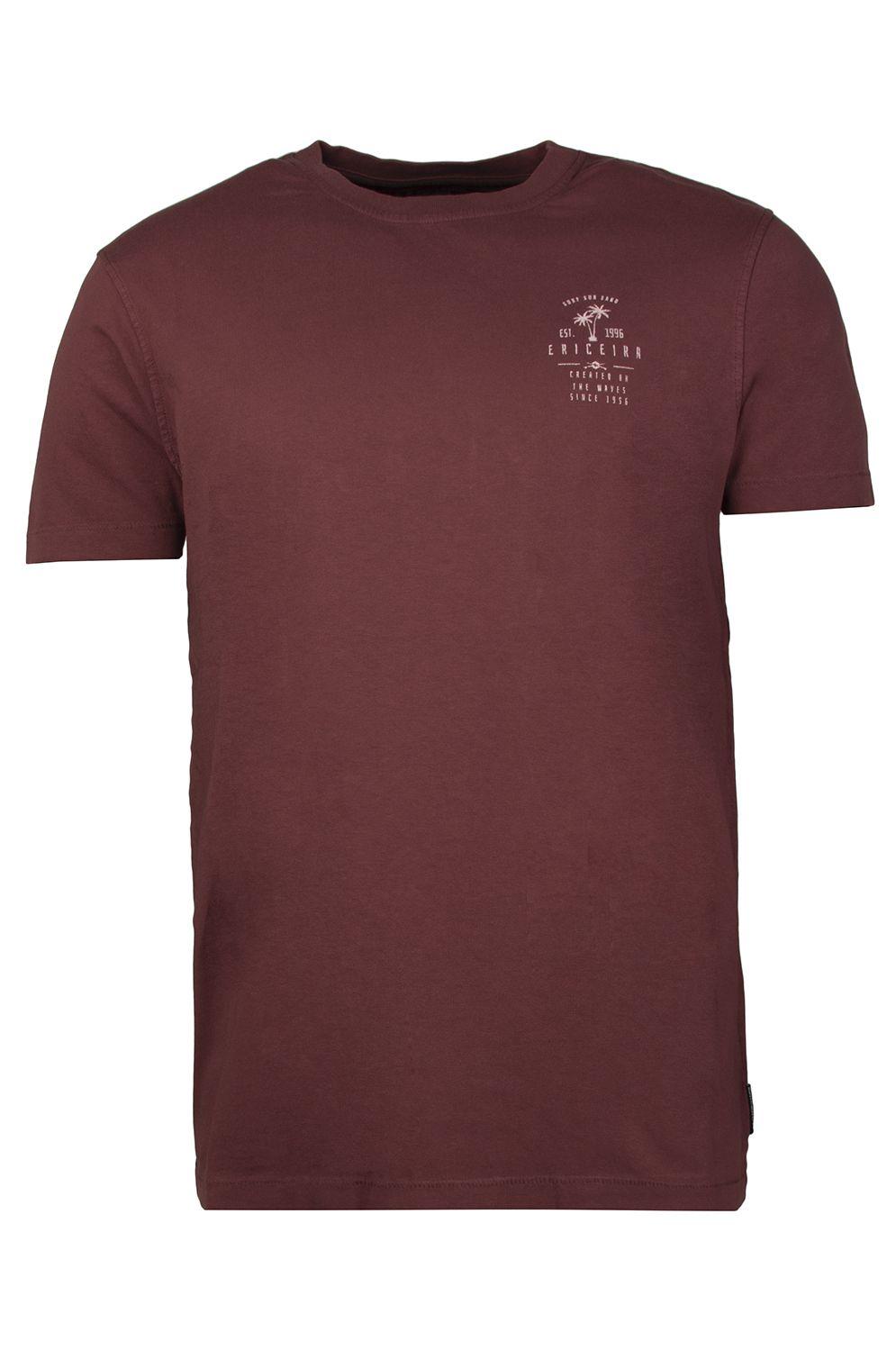 T-Shirt Ericeira Surf Skate BALI HIGH Dark Ruby