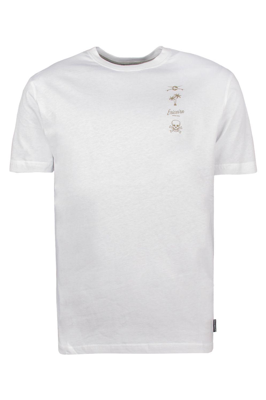 T-Shirt Ericeira Surf Skate TOBAGO White